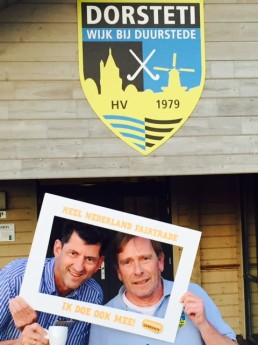 HV Dorsteti - Hans Agasi en Kees Batelaan