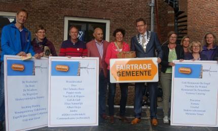 Titeluitreiking Fairtrade Gemeente WBD